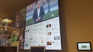 Video wall media