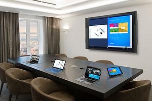 Microsoft enabled meeting room