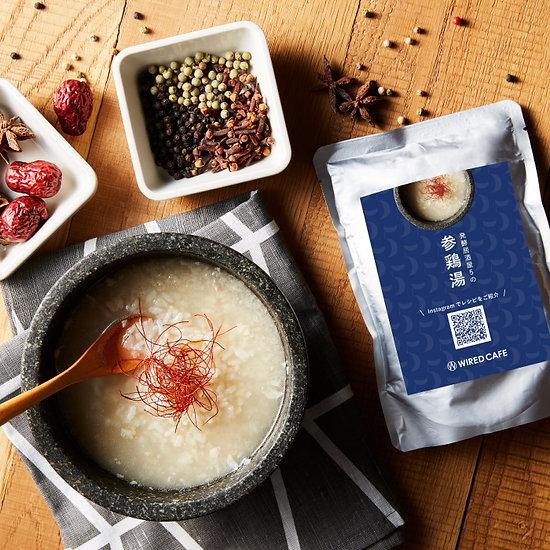 参鶏湯(サムゲタン)×3
