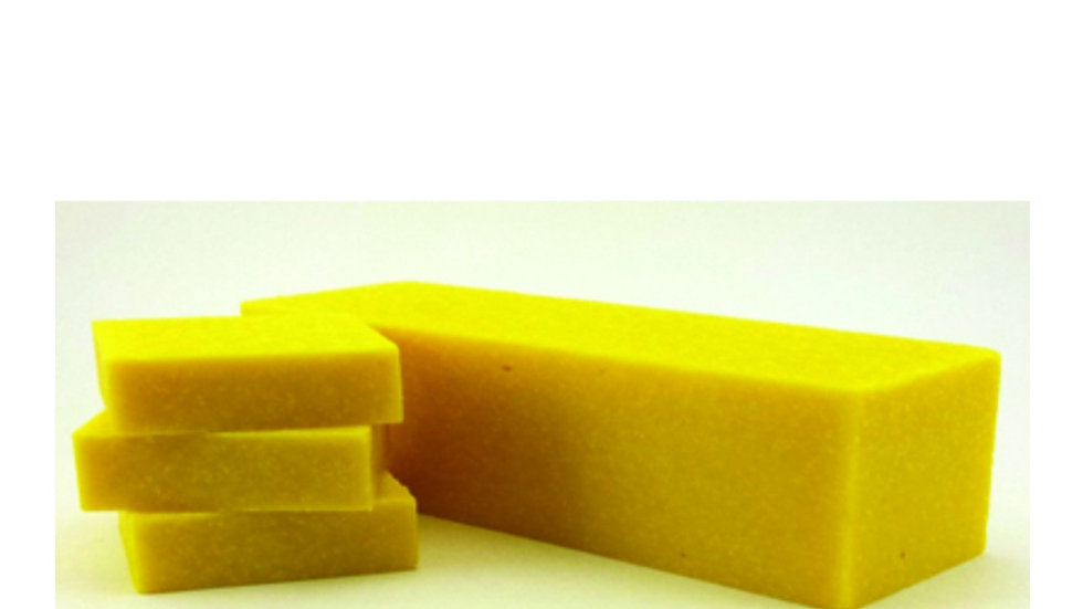 LEMON ZEST SCRUB COLD PROCESS SOAP BARS