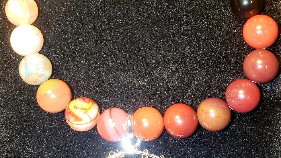 Natural Gem Stone Bead Bracelet