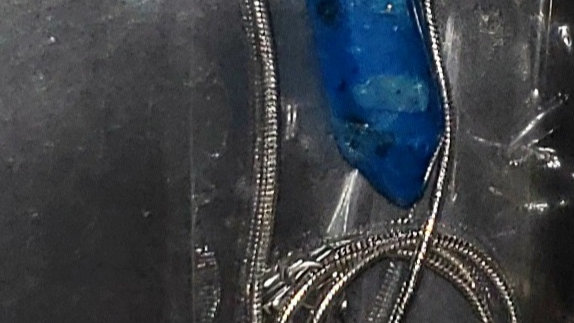 Hexagonal Chakra Pendant Bullet Crystal Pendant/Necklace Gemstone  Quartz