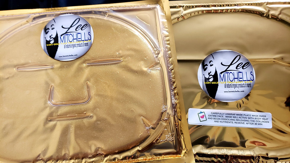 LeeMitchell's Organic 24kt Gold Face Treatment Mask