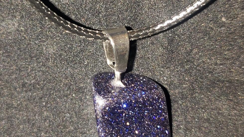 Crystal Stone Pendant Quartz Charm/'necklace