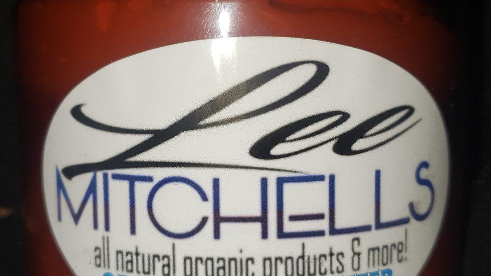 Leemitchell's Organic Body Butter lemon 🍋 fragrance 8 oz jar