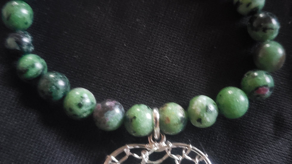 Natural Gem Stone Bead Bracelet