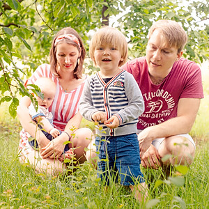 Meli & Simeon Familienfotos