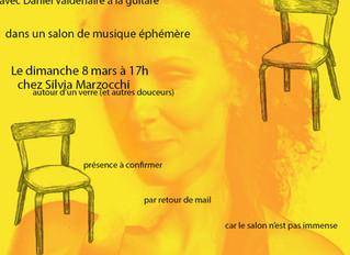 Concert chez Silvia Marzocchi