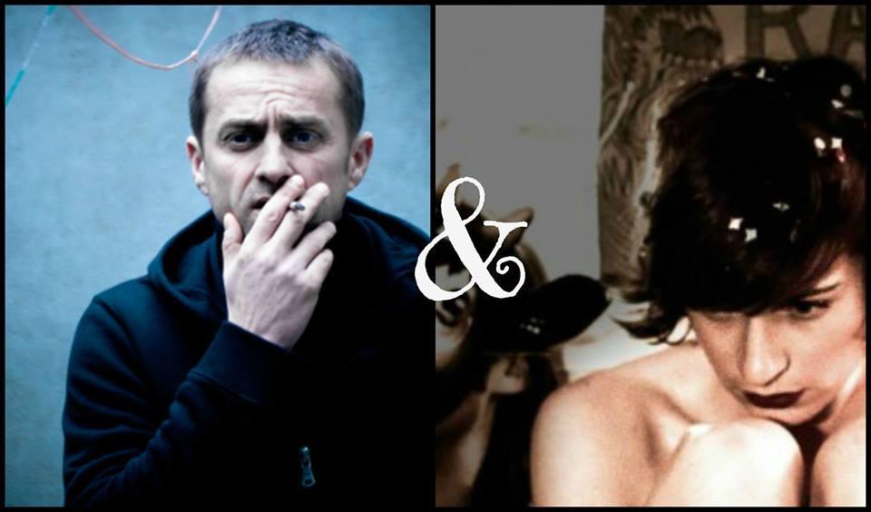 Le poète-performeur Fred Griot et la chanteuse Maud Octallinn