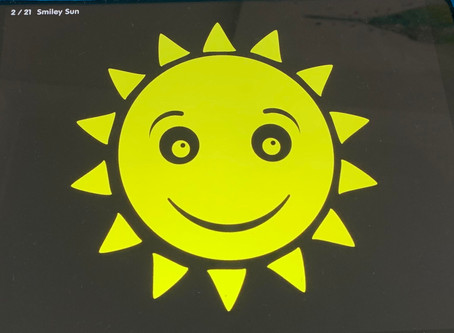 The Yellow Smiley Face - By Laura Garcia and notes by Natalia Kelly, Orthoptist