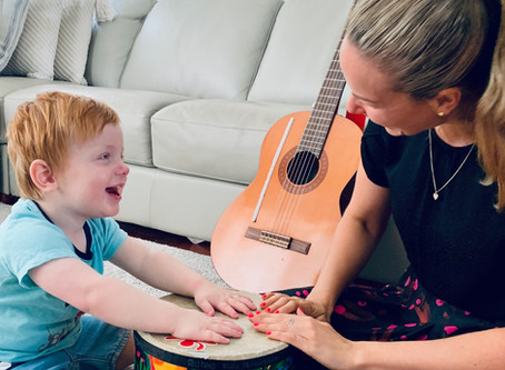 Music Therapy - Luka and Sarah's story - By Heidi Zec and Sarah Punch