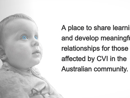 Welcome to CVI Community Australia
