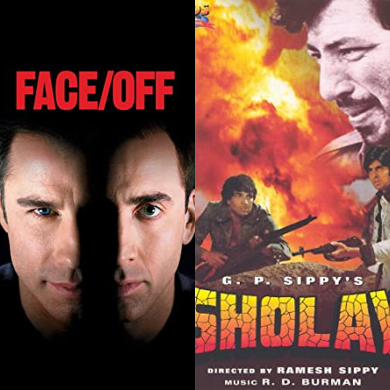 Face-off and Sholay: A comparison