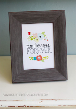 families-are-forever-printable