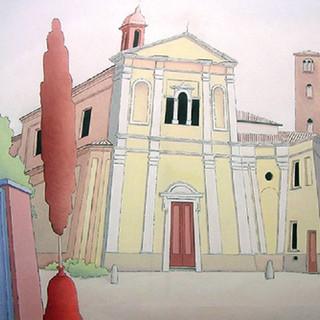 la chiesa di S. Giuseppe - Alba