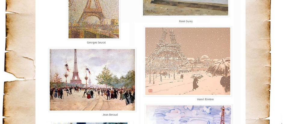 "Una piacevole sorpresa  ""ARTBURDA - La Tour Eiffel"""