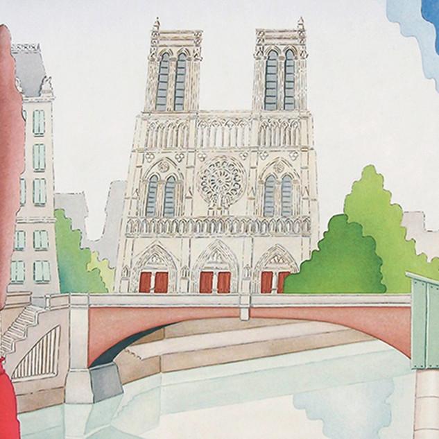 Notre Dame e il Piccolo Ponte