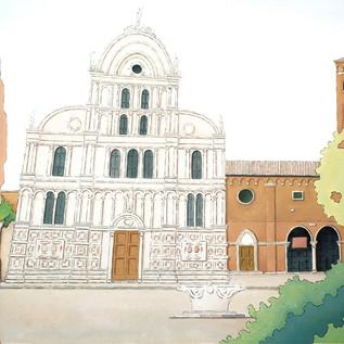 la chiesa di San Zaccaria