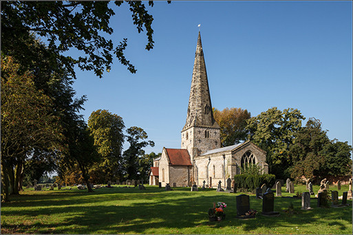Saint James Church - Normanton On Soar  England