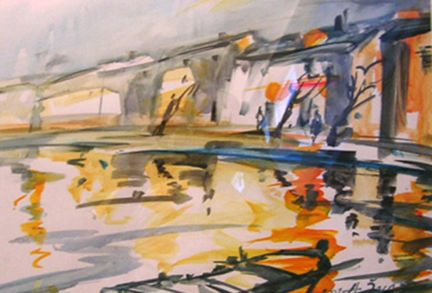 Adalbert Zwab - Un pittore amico