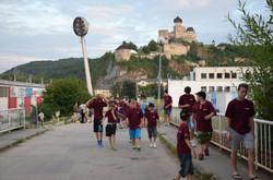 Návšteva trenčianského hradu