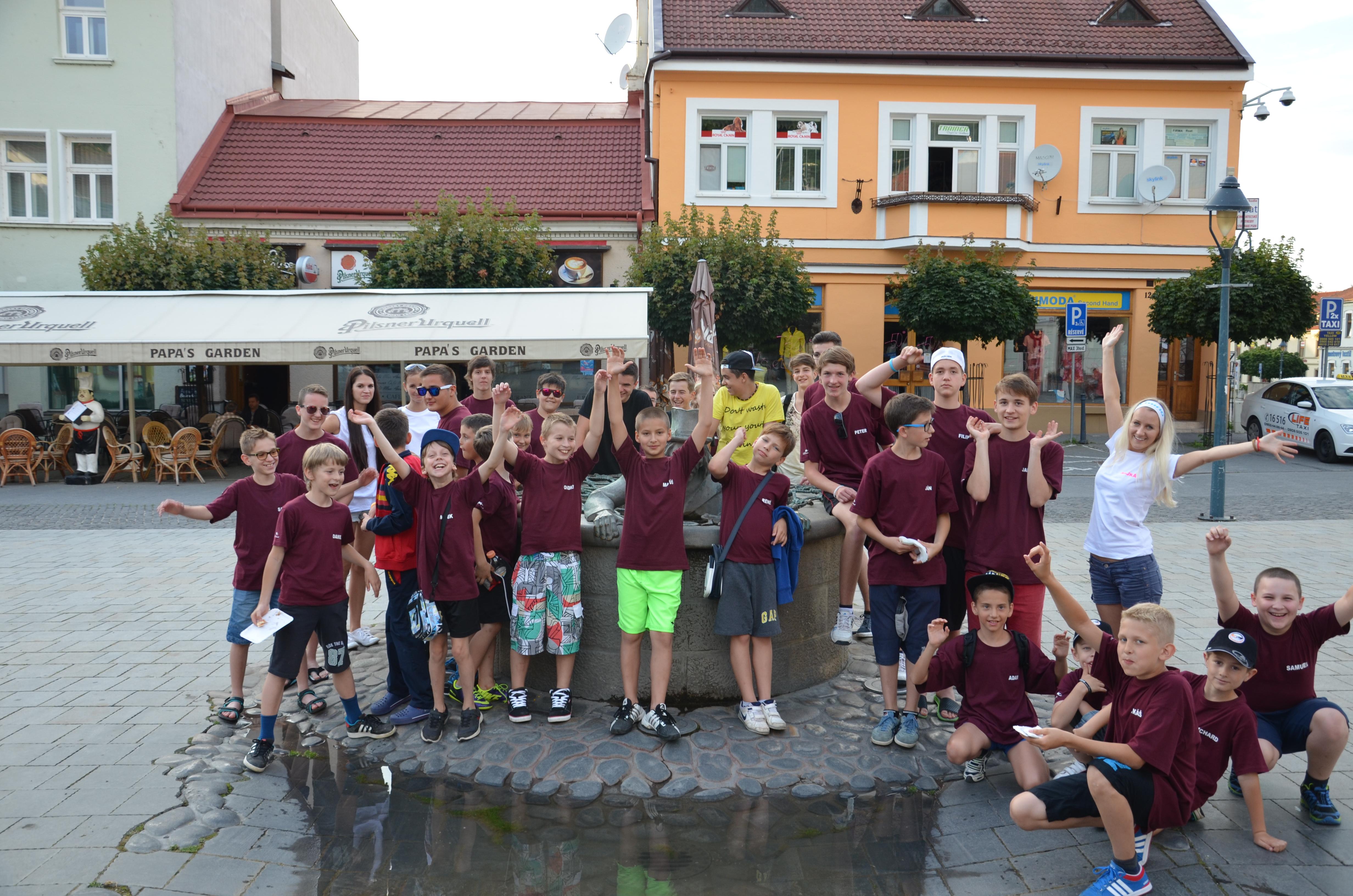 Vychádzka mesto Trenčín