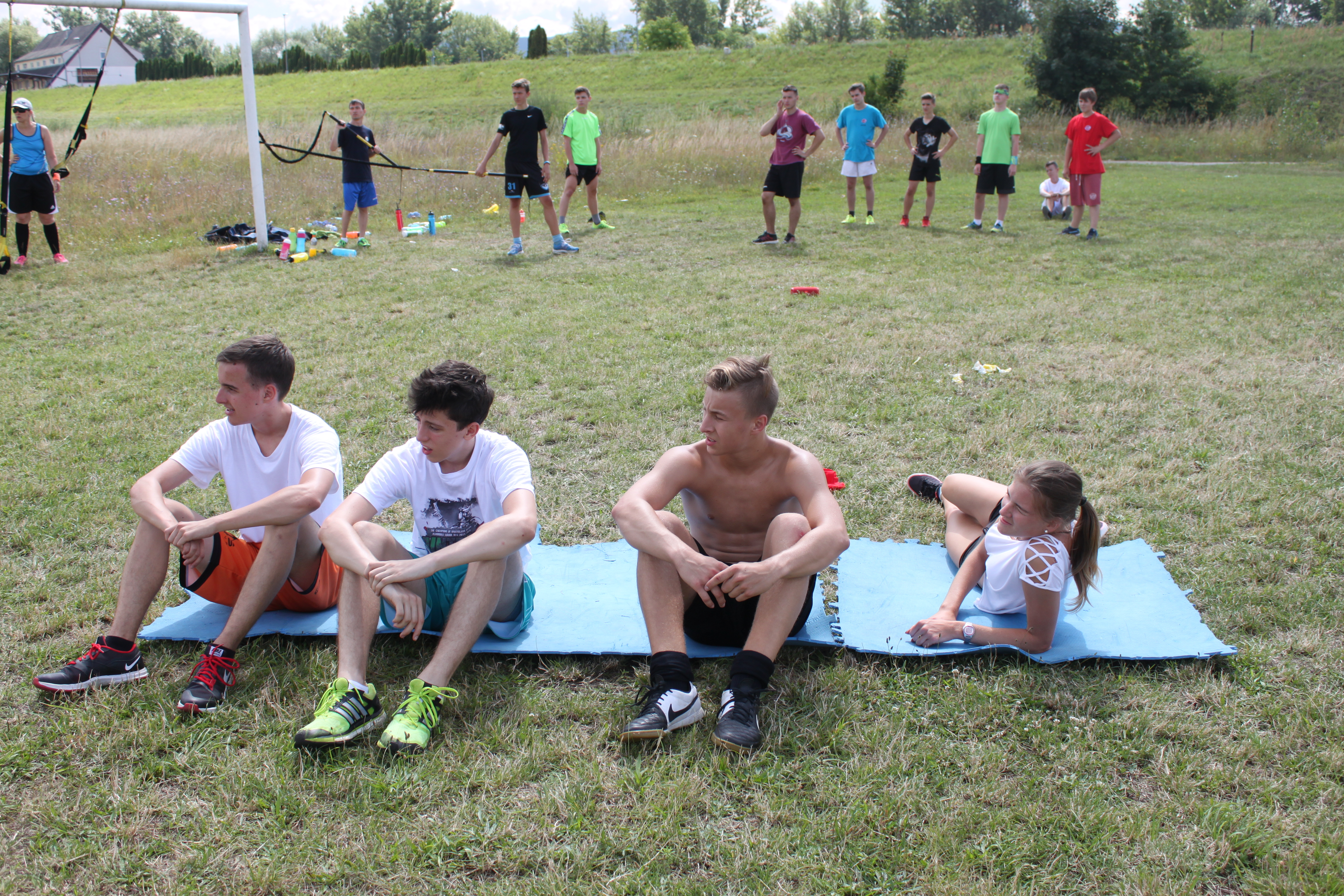 Kondičný tréning vonku