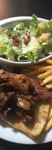 Come join us for our Friday Steak Sandwich, only $13!! #goodeats #tgif #maylong