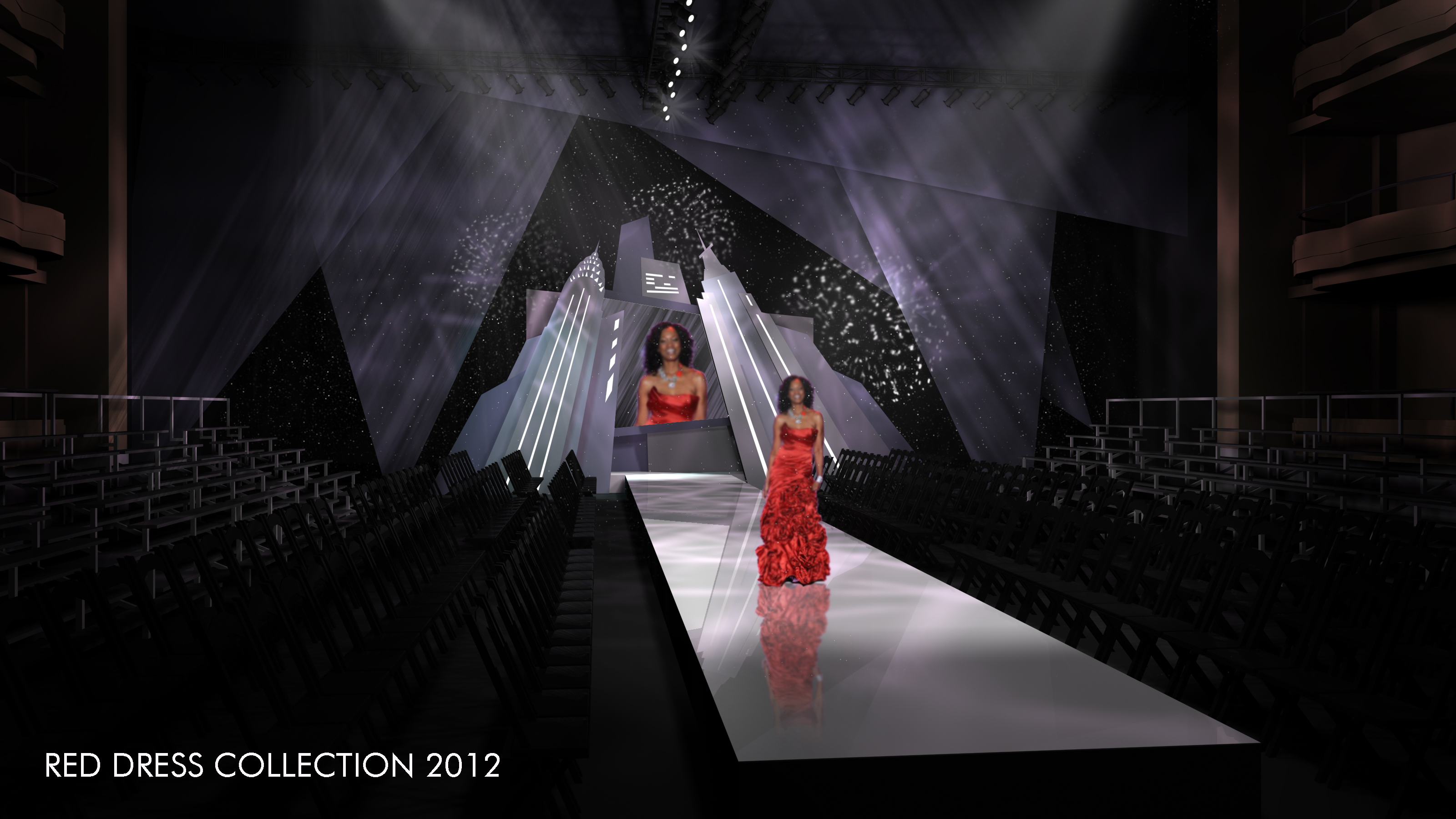 THE RED DRESS COLLECTION 2012