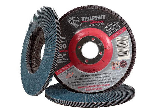 FLAP DISC 125MM 120 GRIT
