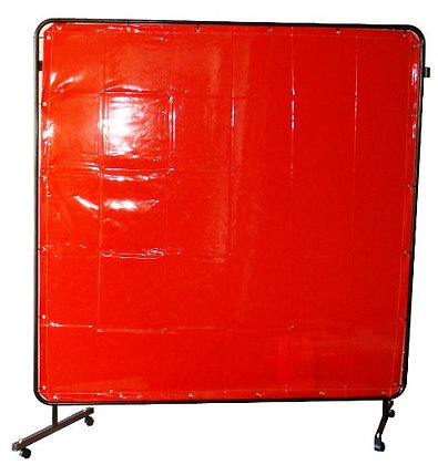 FRAME + CURTAIN KIT 1.8X1.8M STD RED