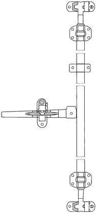 LATCH KIT- VAN DOOR X H/D 320MM HANDLE