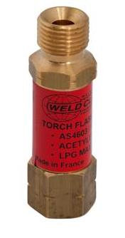 FLASHBACK ARRESTOR TORCH/FUEL AS4603