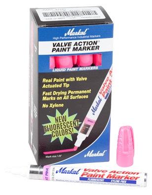 MARKER PAINT VALVE-ACTION- PINK