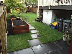 Rough cedar raised garden beds