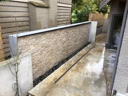 26 ft x 7 ft water wall
