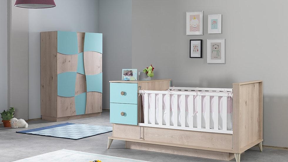 Eylül Turkuaz Bebek Odası