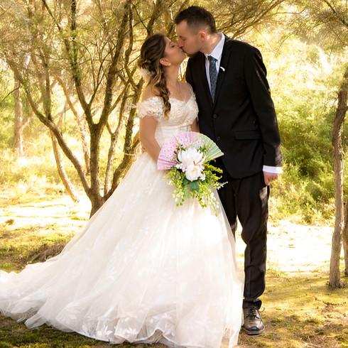 Rotorua Wedding Kuirau Park