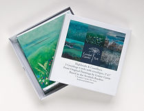 Greeting Cards featuring Original Scottish Landscape and Seascape Art by Scottish Landscape and Seascape Painter Louise Carrie