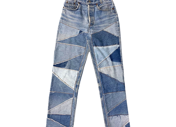 Archive Patchwork Levi's 501 Denim Jeans