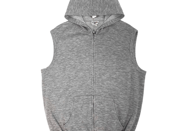 Archive Hobie Sleeveless Zip-Up Sweatshirt