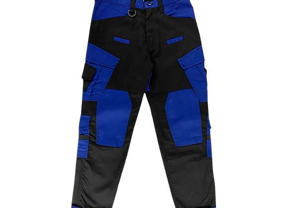 Archive Cobalt Blue Military Utility Cargo Pants