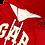 Thumbnail: Archive Red GAP Zip-Up Sweatshirt