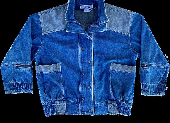 Archive Two-Tone Utility Denim Jacket