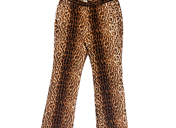 Archive Terry Lewis Leopard Bootcut Pant