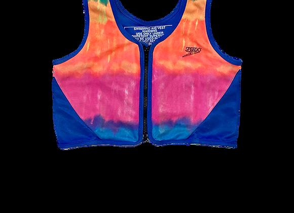 Drip Dye Speedo Swim Top