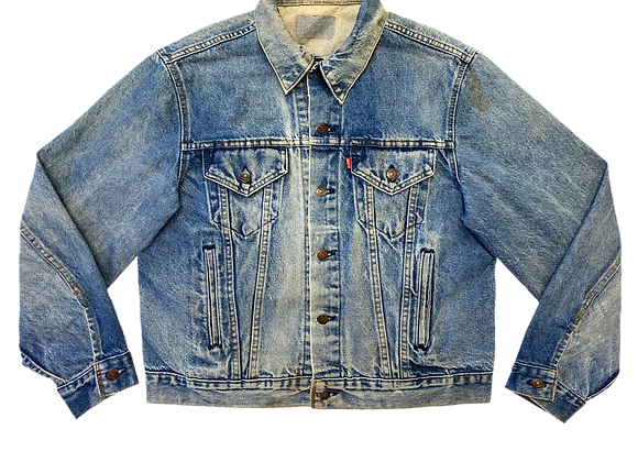 Archive Levi's Denim Trucker Jacket