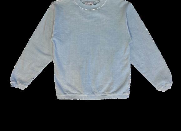 Fruition Archive 2016 Powder Pigment Dyed Blue Sweatshirt