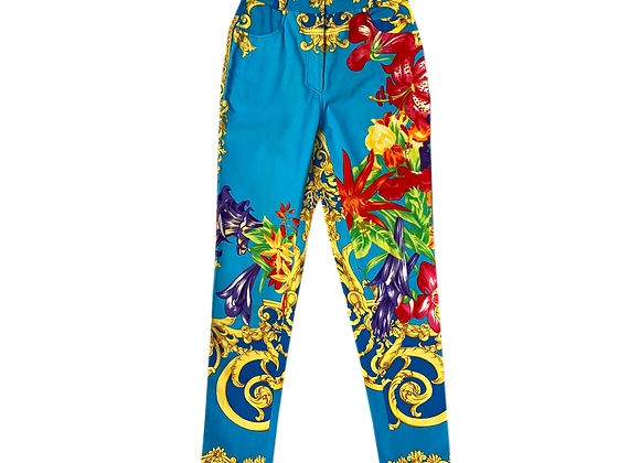 Archive Isante by Versace Tropical Floral Pant