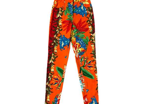 Archive Istante by Versace Tropical Floral Pant